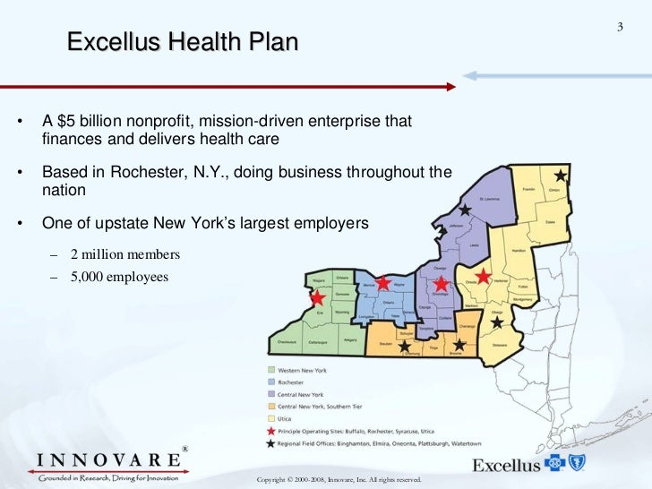 Innovare's Vocal Insights at Blue Cross Blue Shield Slide 3