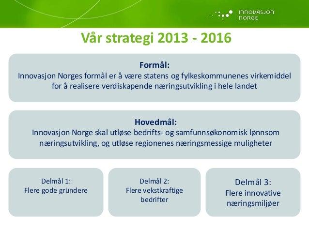 søknad innovasjon norge eksempel