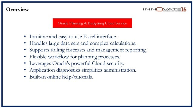 innovate16-pbcs-quick-start-for-insurance-companies-18-638 Oracle Expense Report Help on performance tuning, cloud deduction, criteria input screen, or dashboard icons, tutorial for beginners, hyperion reporting vs,