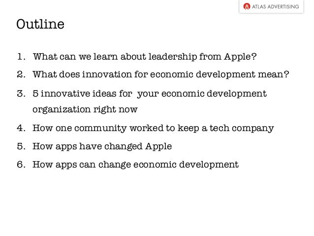 how to innovate like apple essay How to innovate like apple share tweet  create the infrastructure you need to innovate from the outside, apple's offices look like those of  acting like apple seems like a good.