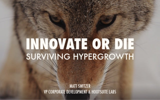 Innovate or Die: The Good & Bad of Innovation Labs
