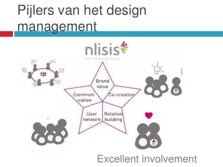 Pijlers van het designmanagement