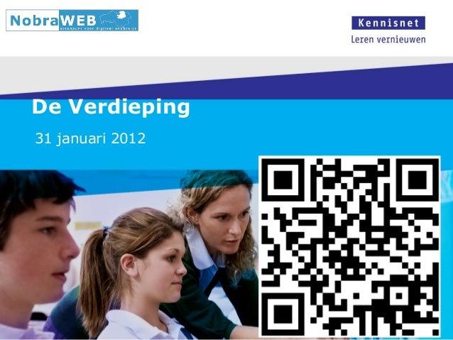 De Verdieping 31 januari 2012