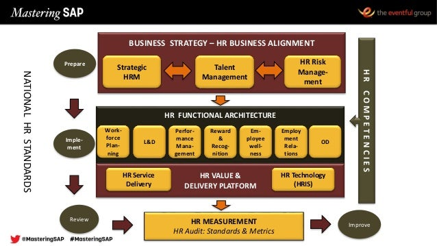 BUSINESS STRATEGY – HR BUSINESS ALIGNMENT Strategic HRM Talent Management HR Risk Manage- ment HR FUNCTIONAL ARCHITECTURE ...