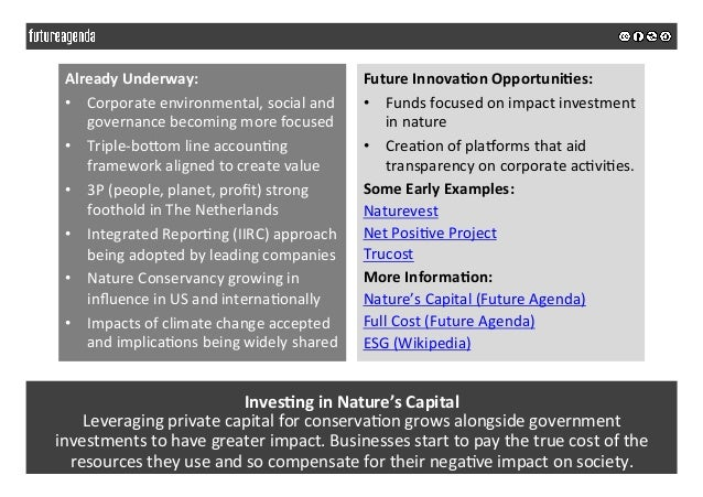 Inves&nginNature'sCapital Leveragingprivatecapitalforconserva5ongrowsalongsidegovernment investmentstohave...