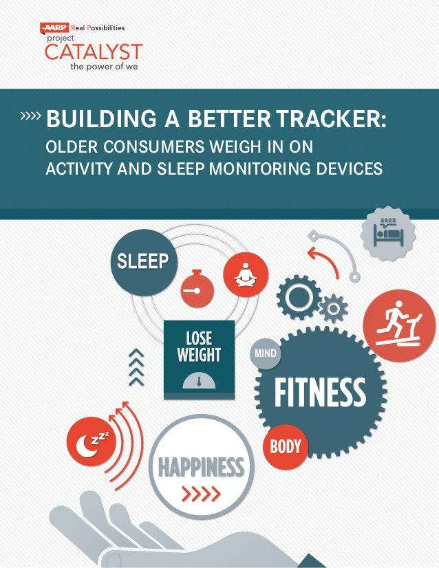 BUILDING A BETTER TRACKER: OLDER CONSUMERS WEIGH IN ON ACTIVITY AND SLEEP MONITORING DEVICES
