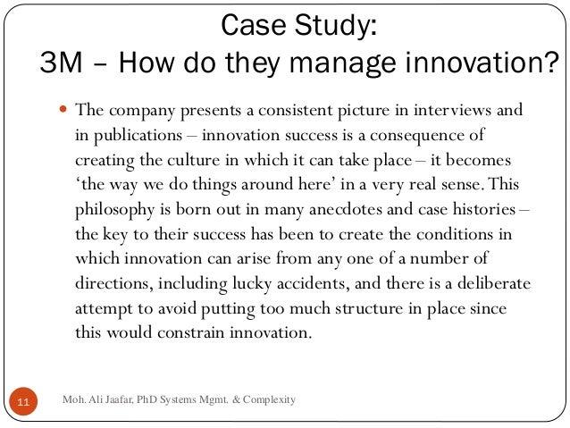 Case Study of Innovation at 3M Essay Sample