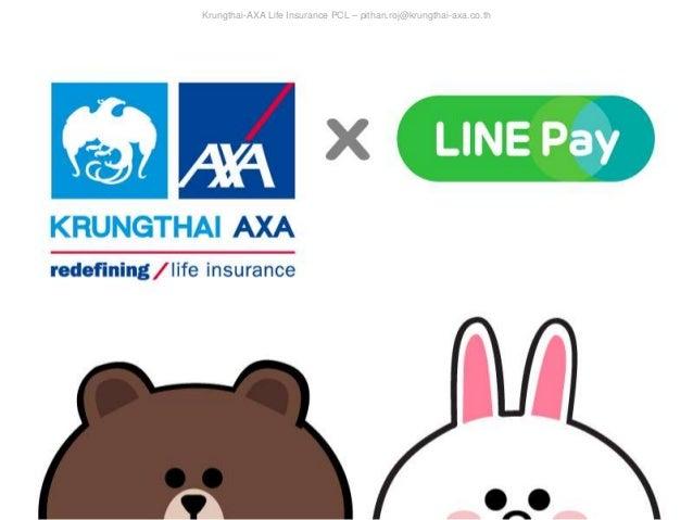 Krungthai AXA Life Insurance PCL U2013 Pithan.roj@krungthai Axa.co ...