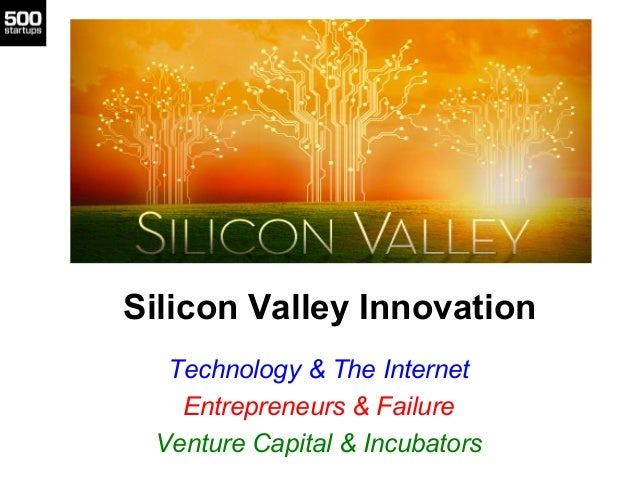 Technology Management Image: Silicon Valley Innovation Technology