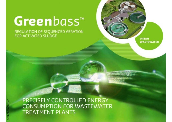 Greenbass                     ™                       REGULATION OF SEQUENCED AERATION                       FOR ACTIVATED...
