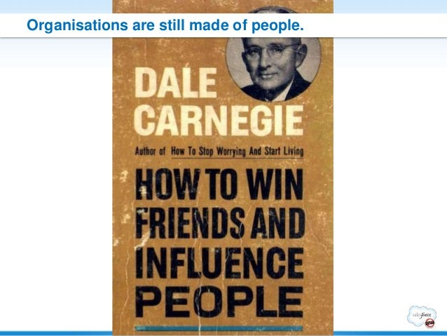 Organisations are still made of people.