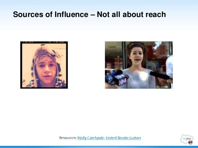 Sources of Influence – Not all about reach