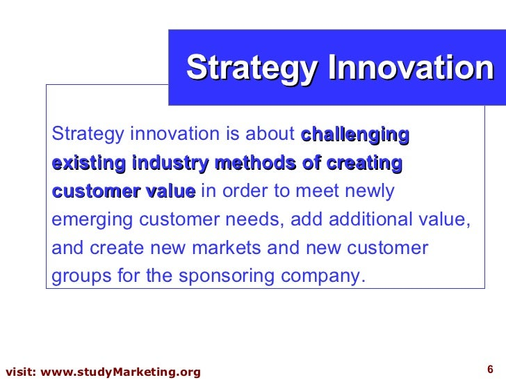 creativity and innovation assignment strategies for About this course: develop insights on navigating the innovation process from idea generation to commercializationbuild knowledge on how to create strategies to bring innovations to market develop an innovation portfolio and business model canvas for your venture.