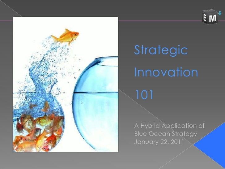 Innovation 101 - Ideas for Entrepreneurial Thinkers