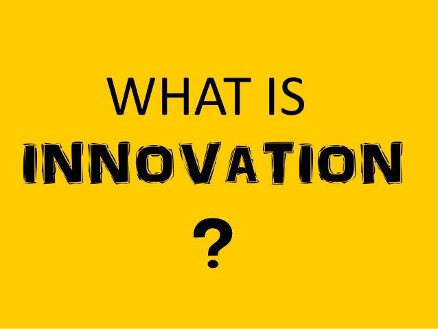 Innovation 101 Workshop Slide 3