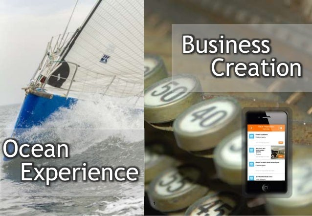 1 Business Creation Ocean Experience