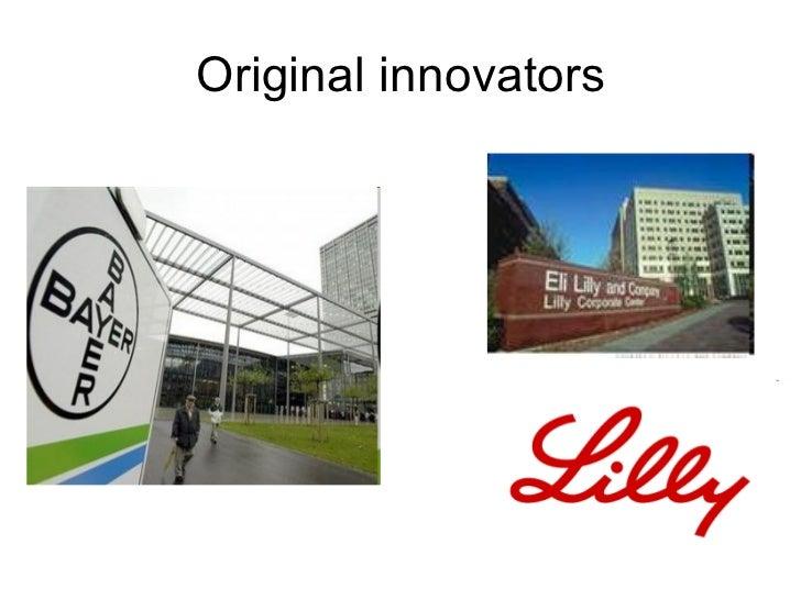 Original innovators