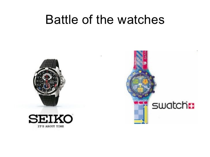 Battle of the watches