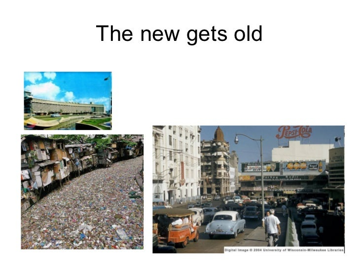 The new gets old