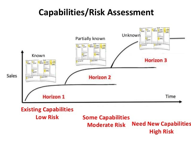 Capabilities/Risk Assessment Existing Capabilities Low Risk Need New Capabilities High Risk Some Capabilities Moderate Ris...
