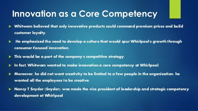 whirlpool global strategy What went wrong with whirlpool's global strategy did whirlpool have enough understanding of how to create a global strategy was the appliance industry more suited for regional than global.