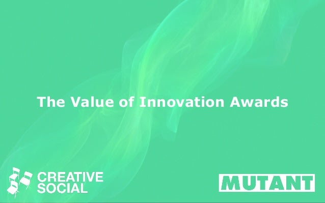 The Value of Innovation Awards