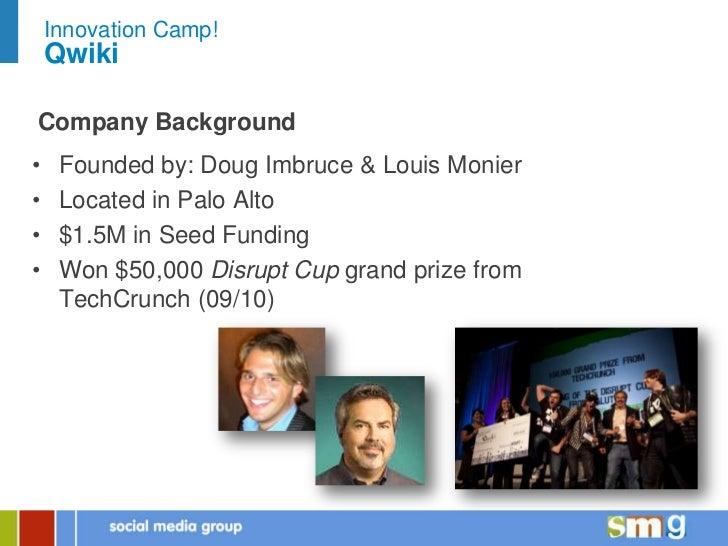 SMG Innovation Camp - Qwiki Slide 2