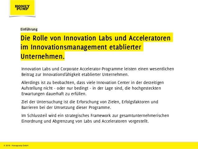 Innovation Labs und Corporate Acceleratoren im Innovations-Dilemma Slide 3