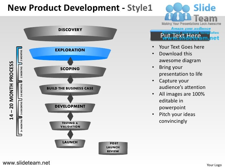 Innovation decision making new product development npd new for New product specification template