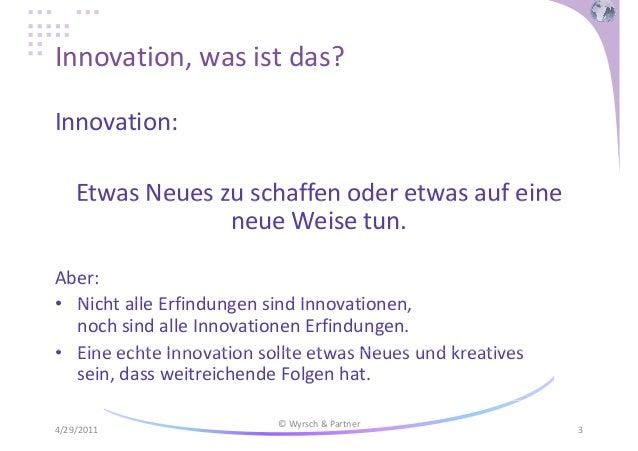 Innovation: die Zukunft in Gegenwart_bringen! Slide 3