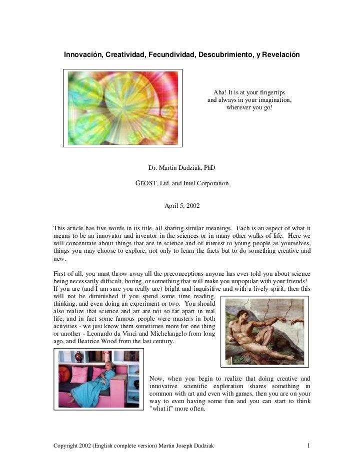 Essay innovation education