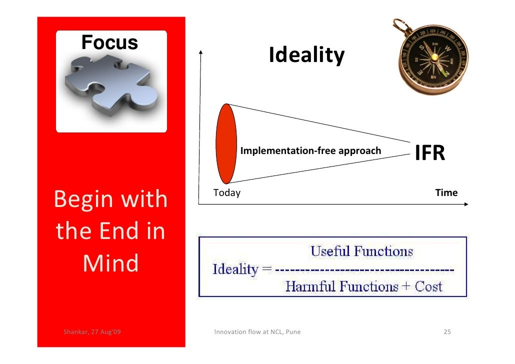 Focus                                       Ideality                                Implementation-free approach          ...