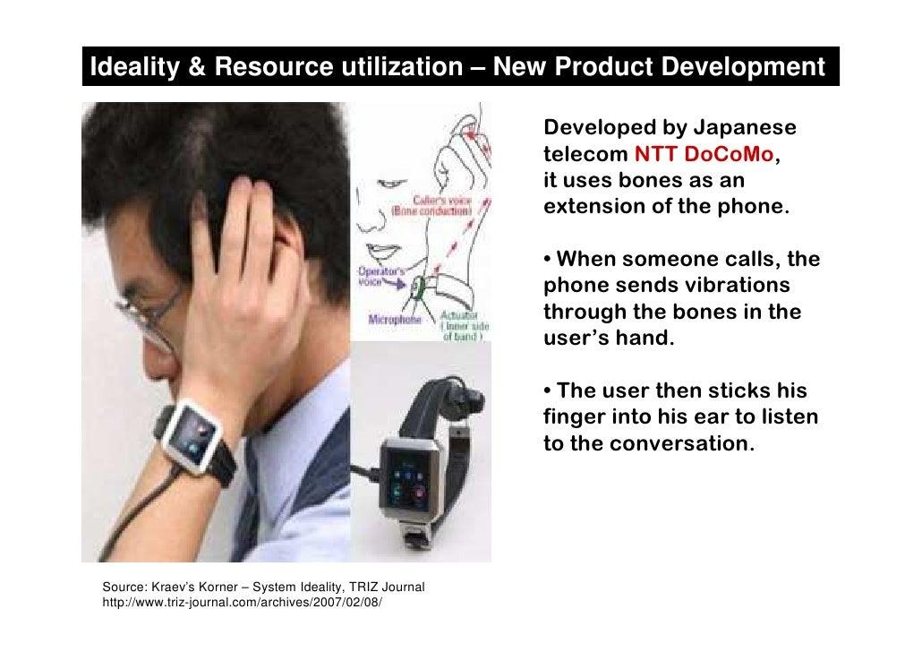 Ideality & Resource utilization – New Product Development                                                           Develo...