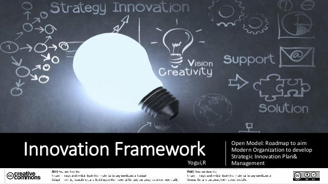 Innovation Framework Open Model: Roadmap to aim Modern Organization to develop Strategic Innovation Plan& ManagementYogui,R