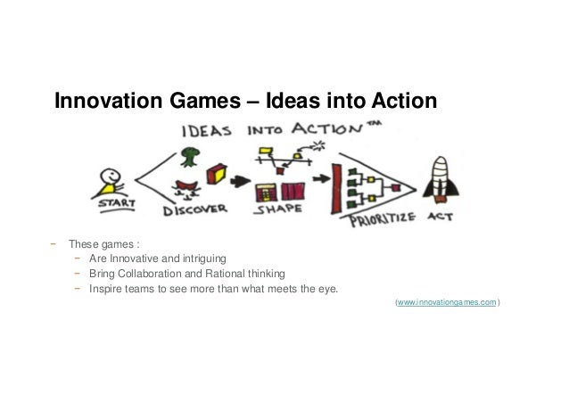 − These games : − Are Innovative and intriguing − Bring Collaboration and Rational thinking − Inspire teams to see more th...