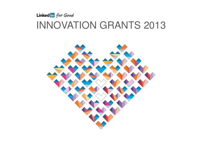 INNOVATION GRANTS 2013