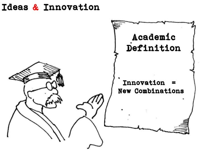 Academic      Definition<br />Innovation  = <br />New Combinations<br />