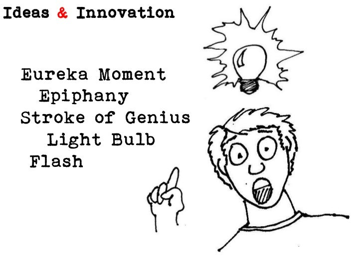Eureka Moment<br />  Epiphany<br />Stroke of Genius<br />   Light Bulb<br /> Flash<br />