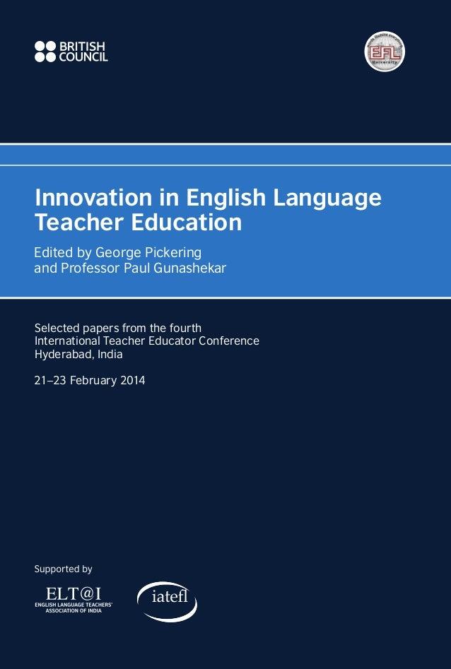 Innovation in edu