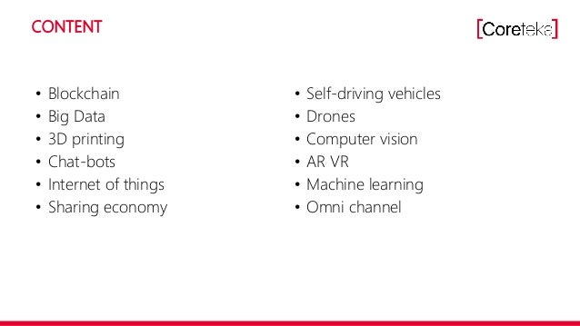 Innovation in logistics   CoreTeka Slide 3