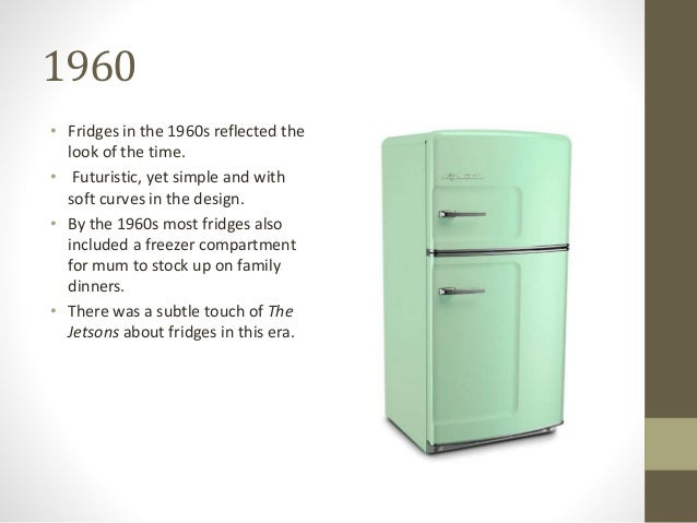 List of Synonyms and Antonyms of the Word: 1960s Refrigerator