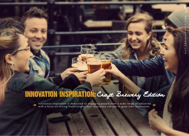 Innovation Inspiration: Craft Brewery Edition