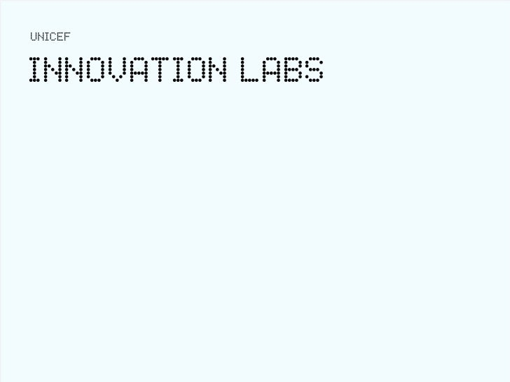 UNICEFINNOVATION LABS