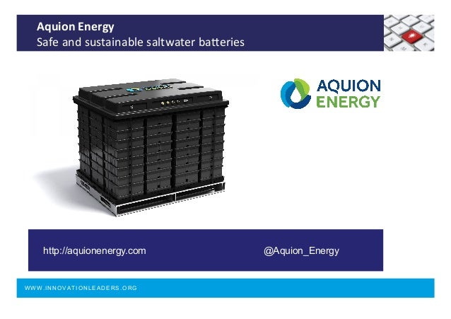Aquion Energy Stock