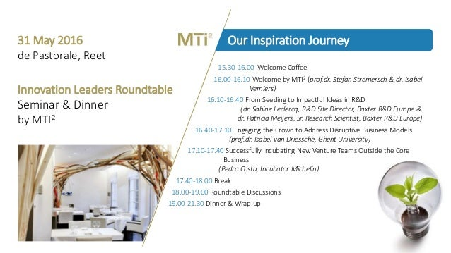 Keeping the Momentum - Innovation Leaders Roundtable by MTI² Slide 2