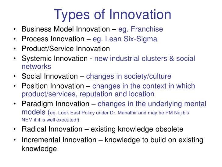 Innovation Led Economy: the Malaysian Experience