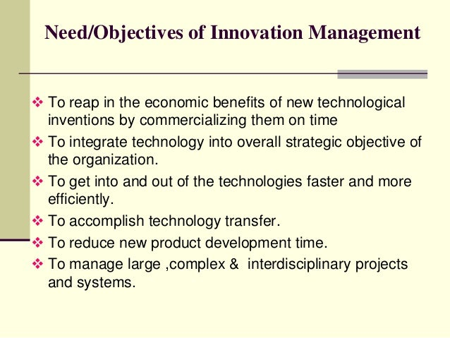 """thesis on innovation management Thesis (pdf, 1074 kb) 2016, bachelor, solenthaler, jan """"the evaluation criteria  for idea selection in an innovation contest for market trends identification in."""