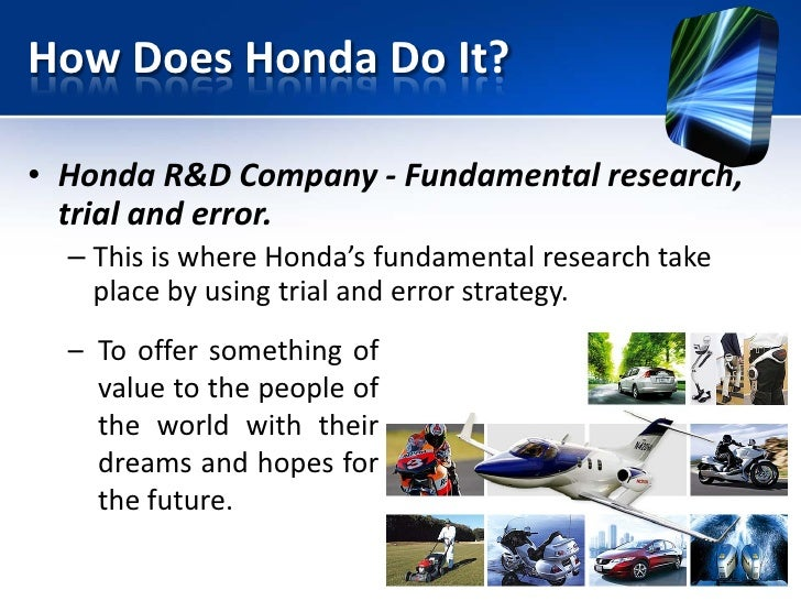Innovation management in the automotive design