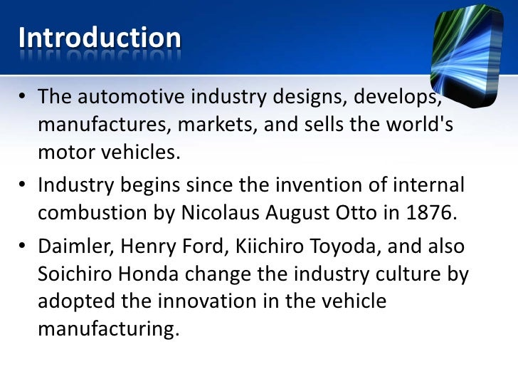 knowledge management in auto industry Read a framework for technology‐based factors for knowledge management in supply chain of auto industry, vine on deepdyve, the largest online rental service for scholarly research with thousands of academic publications available at your fingertips.