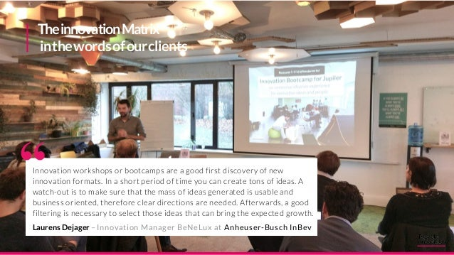 Startup Fund Emerging Business Areas Centerof Excellence External Incubator Internal Accelerator Community ofPractice Inno...